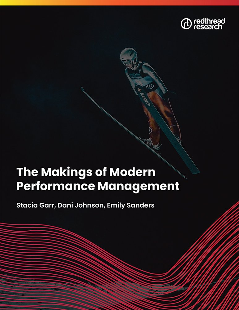 The Makings of modern performance management