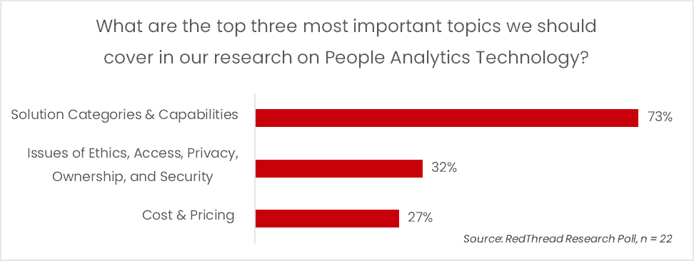 Findings from our People Analytics Tech Interviews